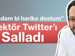 Rektör Prof. Dr. Cavit Bircan Twitter'ı Salladı.