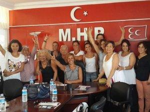 MHP'de Kadın Kolları Başkanı Gönül Şimşek Oldu