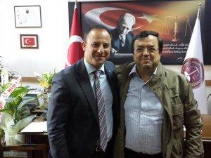 Metin Başalan, Gökhan Bozkurt'a başarılar diledi