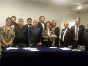 Aydın Ticaret Borsası Üyeleri Paris'te SIAL Fuarı'na katıldı