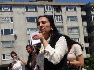 Hdp Eş Başkanı Yüksekdağ, Çorlu'da Vatandaşlara Seslendi