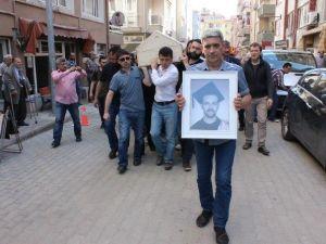 İstanbul'da Bıçaklı Saldırı Sonucu Öldürülen Edirneli Bahadır, Son Yolculuğuna Uğurlandı