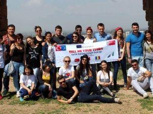 Aydın'a Gelen Misafir Öğrenciler Ülkelerine Döndü