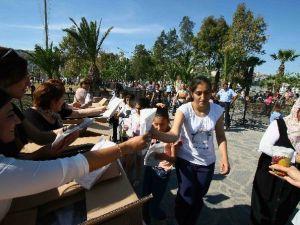 Doğançay Gözleme Ve Ayran Festivali Yoğun İlgi Gördü