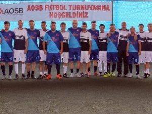 Aosb 3. Futbol Turnuvası Sona Erdi