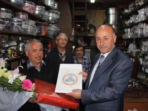 Bartın Valisi Azizoğlu'ndan Yılın Ahisine Ziyaret