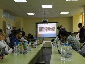 Mesleki Ve Teknik Anadolu Lisesi Bulgaristan'da Projelerini Tanıttı
