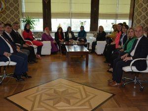 Baran İznik Kent Konseyi Kadın Meclisini Ağırladı