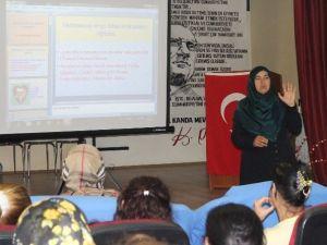Karaman'da Kadın Meclisinin Eğitimleri Sürüyor