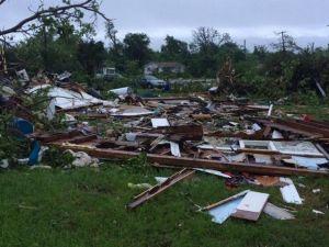 ABD'yi Kasırga Vurdu: En Az 20 Yaralı