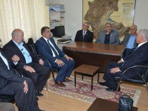 Gürkan'dan Muhtarlar Derneği'ne Ziyaret