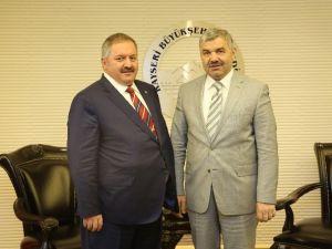 Nursaçan'dan Başkan Çelik'e Ziyaret