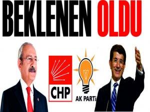 AKP-CHP Koalisyon İçin Kolları Sıvadı