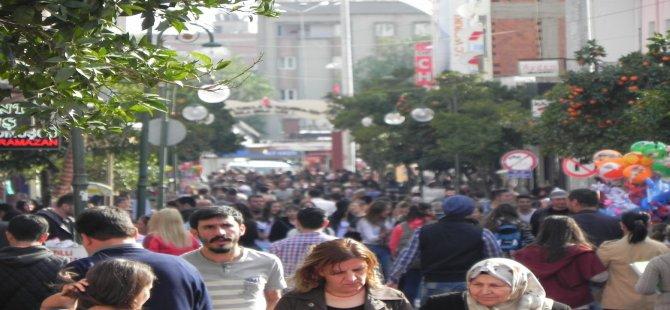 Aydın'ın nüfusu arttı
