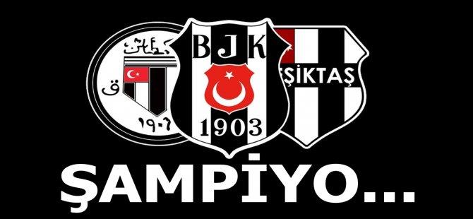 Beşiktaş'tan Şampiyonluk Mesajı