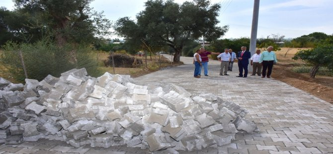 Nazilli Belediyesi yeni yollar açmaya devam ediyor