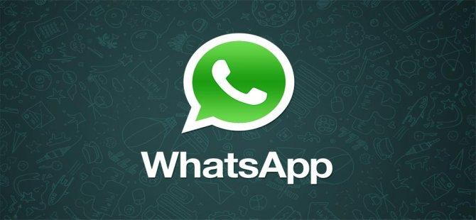 WhatsApp'tan süpriz