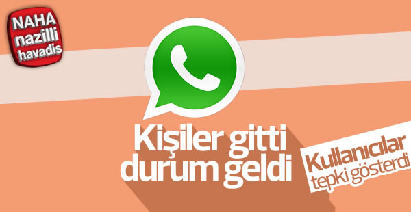 Whatsapp'ın tepki çeken güncellemesi