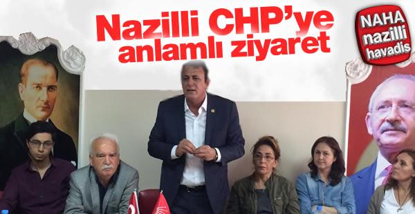 Milletvekilinden CHP'ye Teşekkür Ziyareti