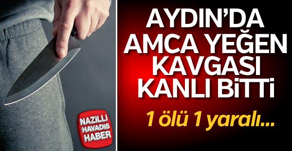 Aydın'da bıçaklı kavga: 1 ölü, 1 yaralı