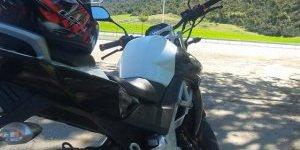 Didim'de motosiklet hırsızı tutuklandı