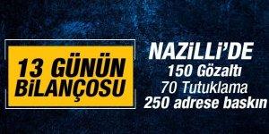Nazilli'de FETÖ Operasyonlarının Bilançosu