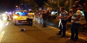 Nazilli'de yaşlı adama otomobil çarptı