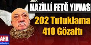 Nazilli'de FETÖ Bilançosu