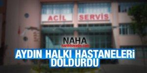 Aydın'da hastanelerde yoğunluk yaşanıyor