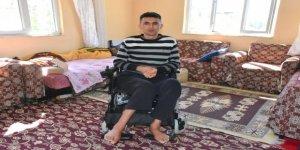 Nazilli Belediyesi felçli genç adama umut oldu