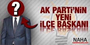 AK PARTİ Nazilli İlçe Teşkilatı yeni başkanı