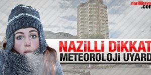 Nazilli DİKKAT! Meteoroloji uyarıyor