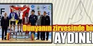 Aydın'dan dünya şampiyonu