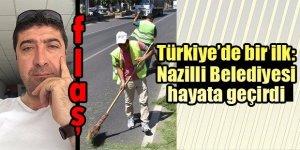 Türkiye'de bir ilk! Nazilli Belediyesi hayata geçirdi