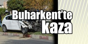 Buharkent'te kaza...