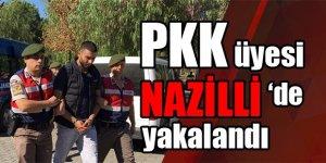 PKK üyesi, Nazilli'de sevgilisiyle yakalandı