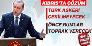 Cumhurbaşkanı Erdoğan'dan Kıbrıs müzakereleri açıklaması