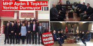 MHP Aydın İl Teşkilatı Yerinde Durmuyor