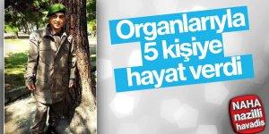 Mehmetçik'in Organları 5 Kişiye Hayat Verdi