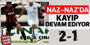 Nazilli Belediyespor, İstanbul'da kaybetti.
