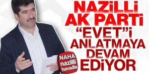 Ak Parti Nazilli İlçe Teşkilatı referandum çalışmalarına devam ediyor