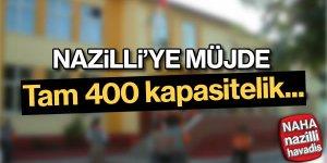 Nazilli'ye yeni okul
