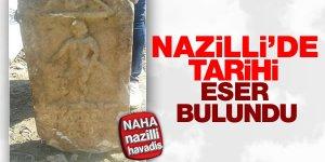 Nazilli'deki tarihi eser görenleri şaşırttı