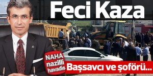 Cumhuriyet Başsavcısı trafik kazası geçirdi