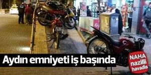 11 motosiklet bağlandı