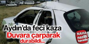 Aydın'da trafik kazası; 1'i ağır 3 yaralı