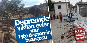 Deprem sonrası görüntüler