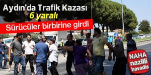 Aydın'da trafik kazası: 6 yaralı