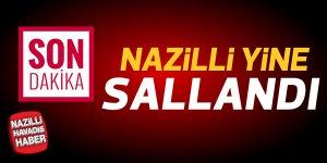 Nazilli'de yeni sarsıntı