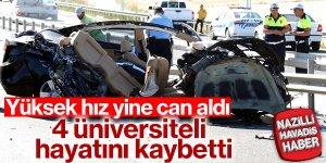 Feci trafik kazası: 4 ölü